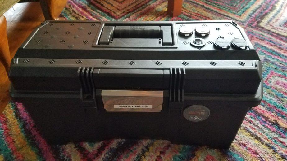 100Ah battery box build